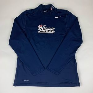 New England Patriots Nike On Field Thermal Shirt